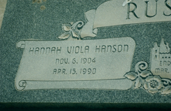Hannah Viola <i>Hanson</i> Russon