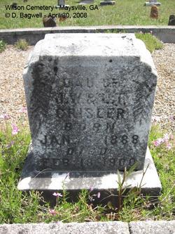 Bertha Crisler