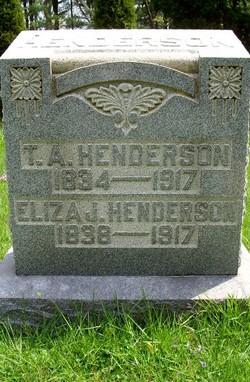Eliza Jane <i>Yerian</i> Henderson