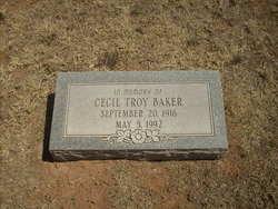Cecil Troy Baker