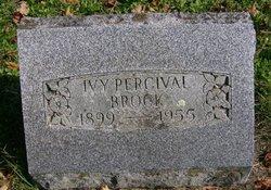 Ivy <i>Percival</i> Brock