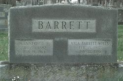Vela Barrett Wells