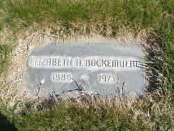 Elizabeth A Lizzie Bockemuehl