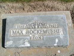 Max Millian Bockemuehl