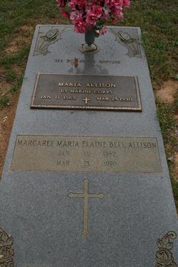 Margaret Maria Elaine <i>Bell</i> Allison
