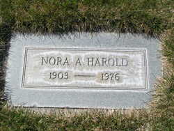 Nora Alice <i>Thomas</i> Harold