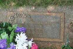 Della B <i>Hecker</i> Alton