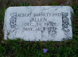Albert Barnett Pat Allen