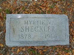 Myrtie Viola <i>Moore</i> Sheckler