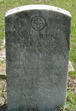 Sgt Warren Gamaliel Franks, Jr