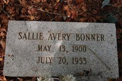 Sallie Belle <i>Avery</i> Bonner