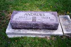 Addie F. <i>Wagner</i> Andrews