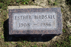 Esther Birdsall