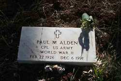Paul M Alden