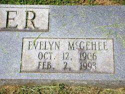 Evelyn <i>McGehee</i> Aber