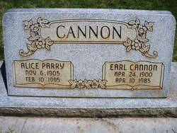 Alice <i>Parry</i> Cannon