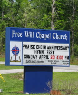 Free Will Chapel Church Cemetery