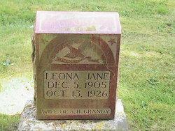 Leona Jane <i>Eller</i> Grandy