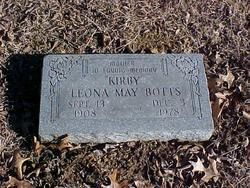 Leona May <i>Kirby</i> Botts