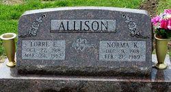 Lorre Emil Allison