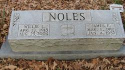 Willie Lee <i>Washam</i> Noles
