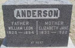 William Leon Anderson