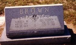 Rev Leyden Vivian Brown