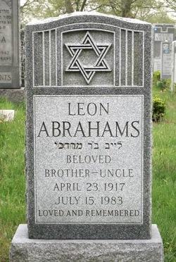 Leon Abrahams