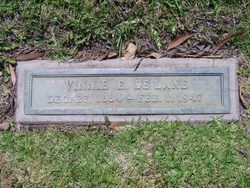 Vinnie Evelyn <i>Glover</i> De Lane