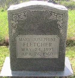 Mary Josephine <i>Spence</i> Fletcher