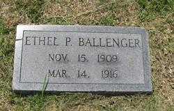 Ethel Patrick Ballenger