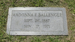 Madonna F Ballenger