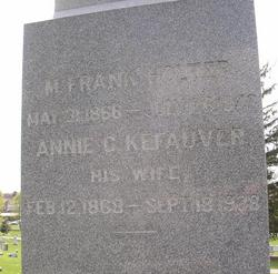 Annie C. <i>Kefauver</i> Holter