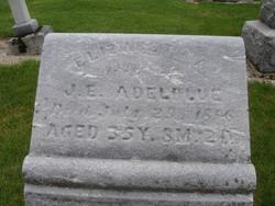 Elizabeth Ann Susannah <i>Agler</i> Adelblue