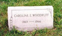 Caroline Elizabeth Bessie <i>James</i> Woodruff