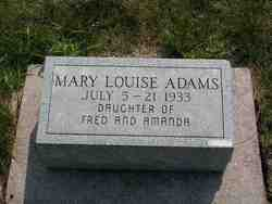 Mary Louise Adams