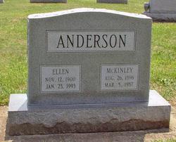 Lucy Ellen <i>Baker</i> Anderson