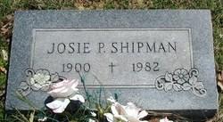 Josie Mae <i>Prock</i> Shipman