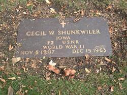 Cecil W. Shunkwiler
