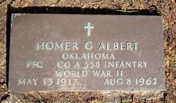 Homer Granville Albert