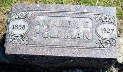 Amanda Elizabeth <i>Smith</i> Holeman