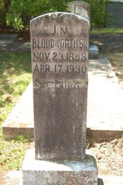 James Milton Bloodworth
