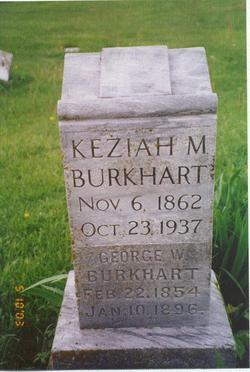 Keziah Mariah <i>Parrish</i> Burkhart