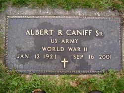 Albert R Caniff, Sr