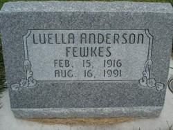 Luella Lucynda <i>Hegstrom</i> Anderson
