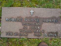 Robert Duane Adams