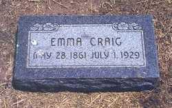 Emma <i>Ritchie</i> Craig