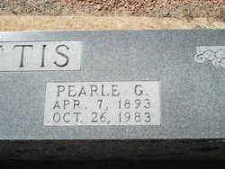 Pearle Gertrude <i>Johnston</i> Loftis