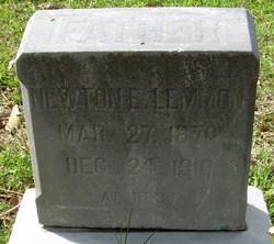 Newton E Lemmon
