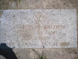 Almon James Brownie or Al J Brown